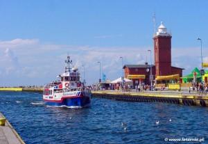 Darłówko latarnia morska